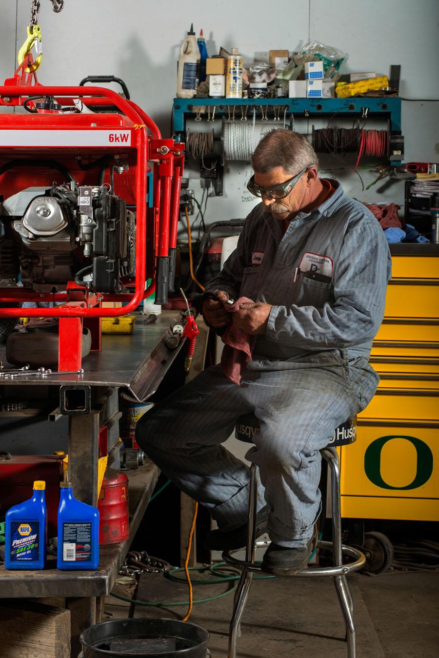 Construction Equipment Repair & Servicing
