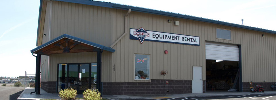 Construction Equipment Rental Store Redmond Oregon