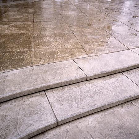 concrete walkway central oregon